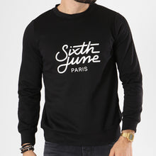 Carregar imagem no visualizador da galeria, SIXTH JUNE - SWEAT CREWNECK M3479VSW PRETO