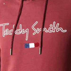 TEDDY SMITH - SWEAT SEVEN BORDEAUX