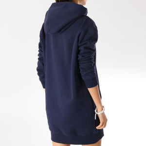 TOMMY HILFIGER JEANS - MULHERES SWEAT DRESS CLASSICS 5658 NAVY BLUE