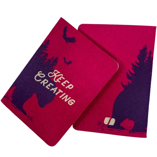 'Keep Creating' Pocket Notebook