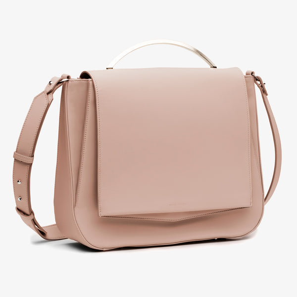 PEPPER SADDLE | BLUSH