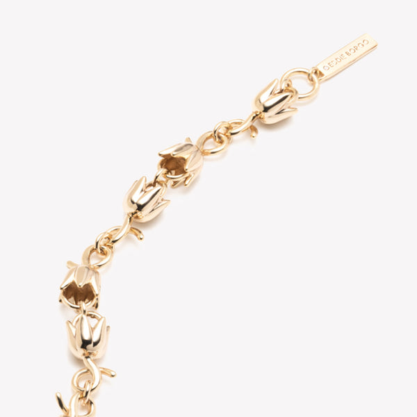 LILY OF THE VALLEY LINK BRACELET