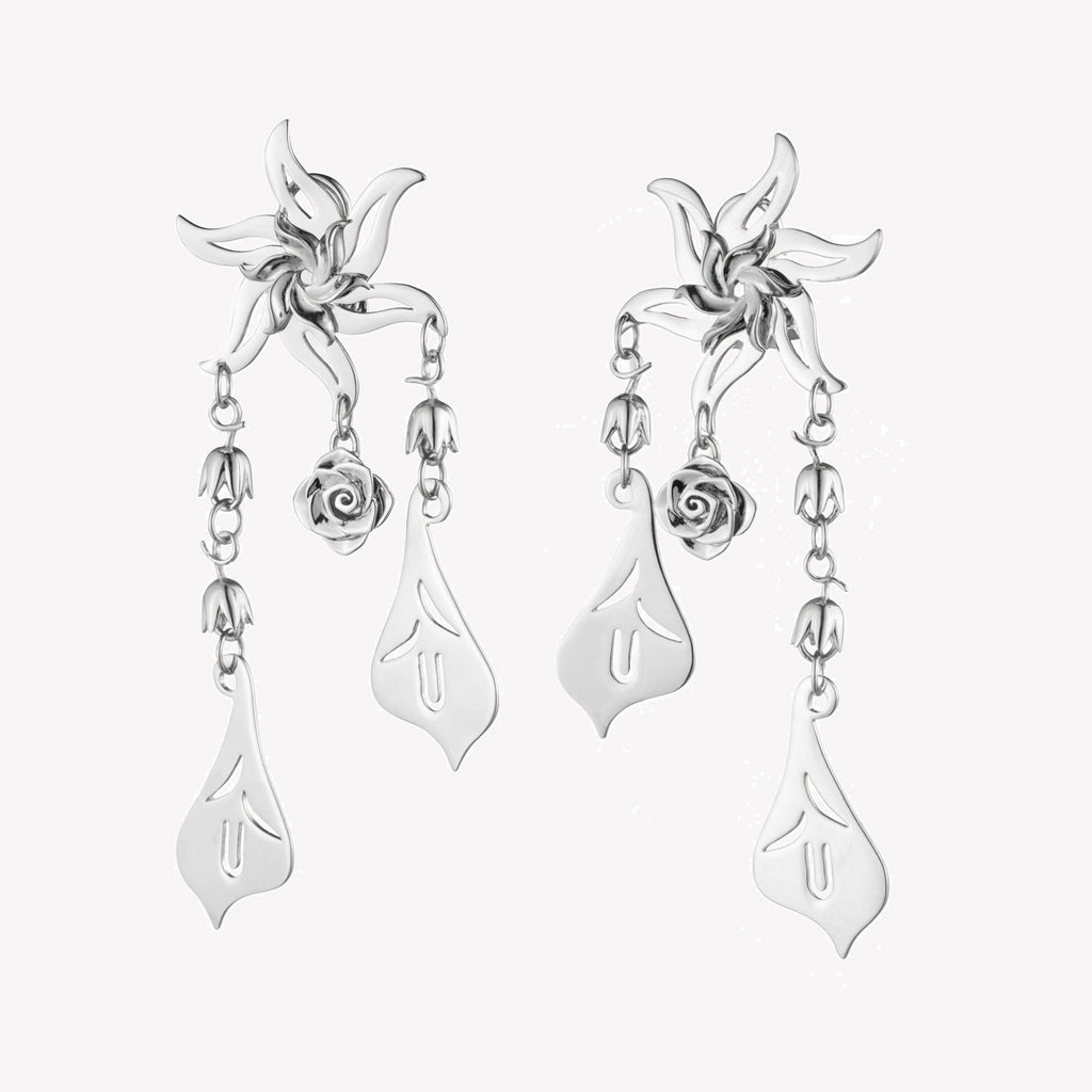 GARLAND CHANDELIER EARRINGS