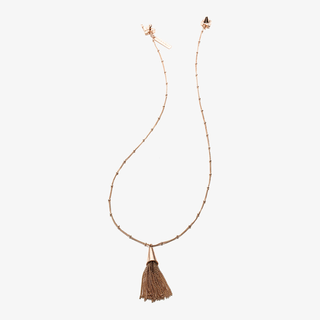 SMALL CHAIN TASSEL PENDANT