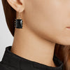RECTANGLE ESTATE DROP EARRINGS