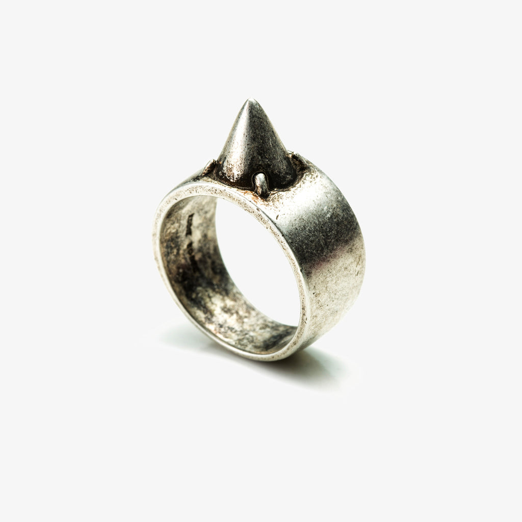 MENS CONE RING