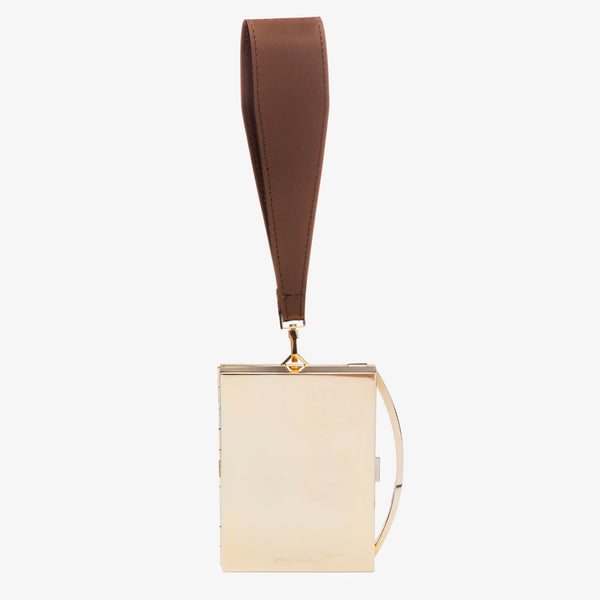 LOU WRISTLET | WIDE WHISKEY STRAP