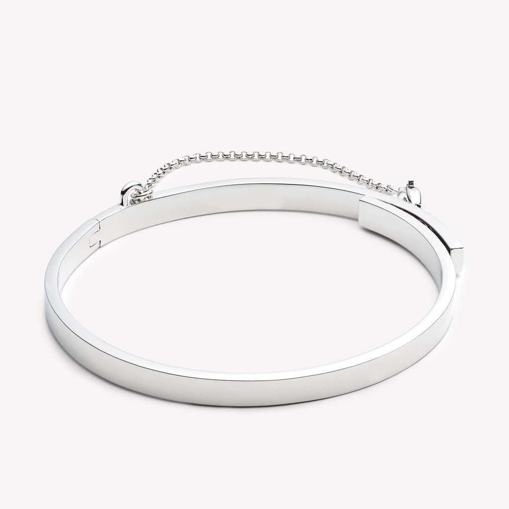 THIN SAFETY CHAIN BRACELET