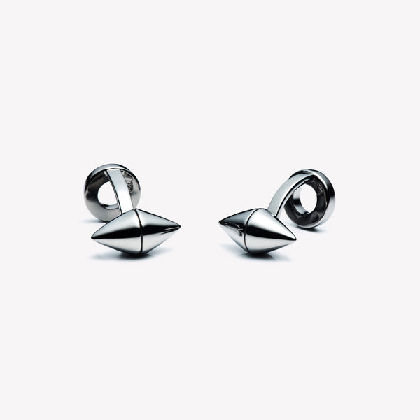 MENS DOUBLE CONE CUFFLINKS