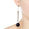 COLONNADE EARRINGS - ONYX