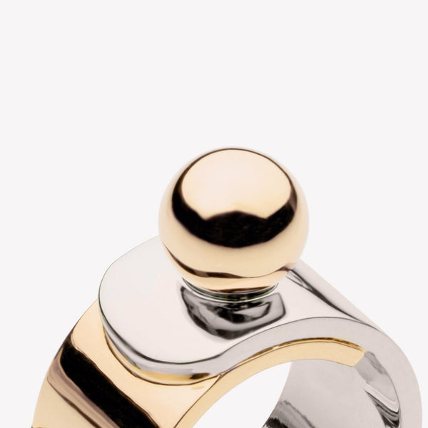 OVERLAY PINKY RING