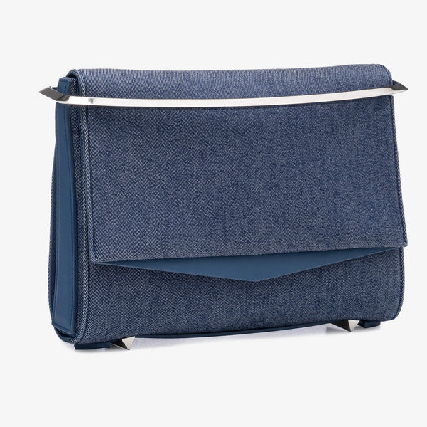 BOYD SMALL CLUTCH - SELVEDGE DENIM