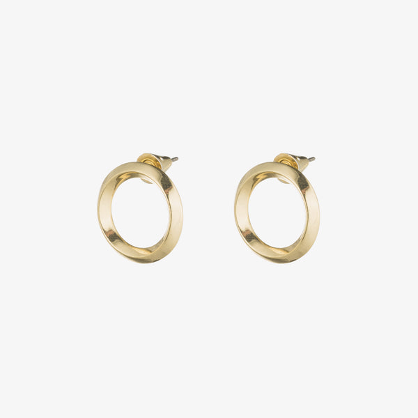 O-RING STUD EARRINGS