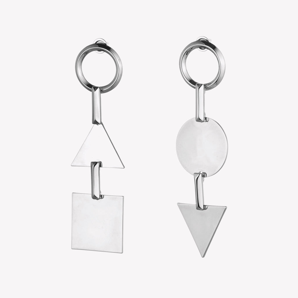 TOKEN LINEAR EARRINGS