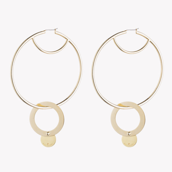 NUBIA HOOP EARRINGS
