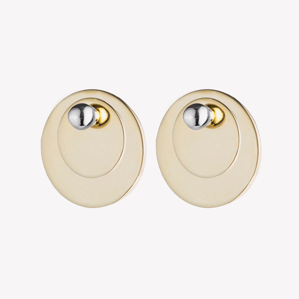 PAILLETTE STUD EARRINGS