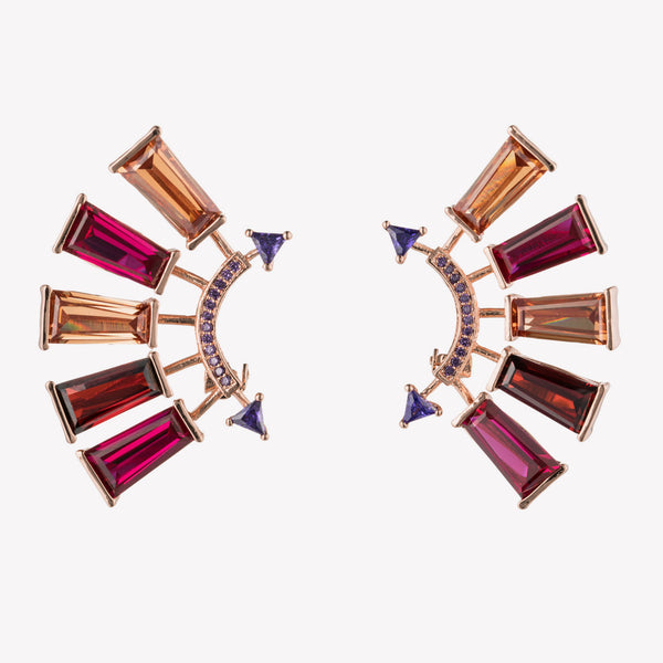 APOLLO EAR CLIMBER EARRINGS | CLIP ON