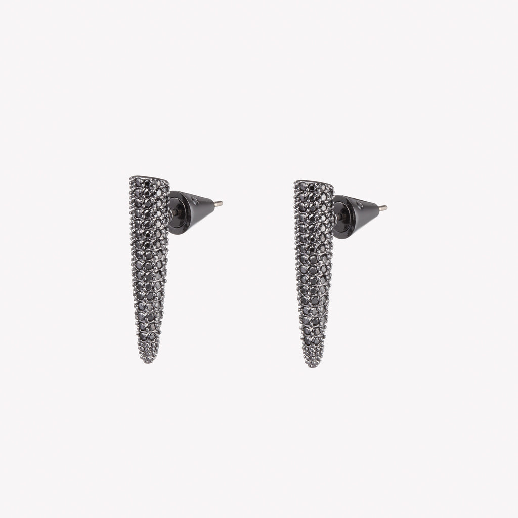PAVÉ SPIKE STUD EARRINGS