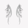 PAVÉ FROND EARRINGS
