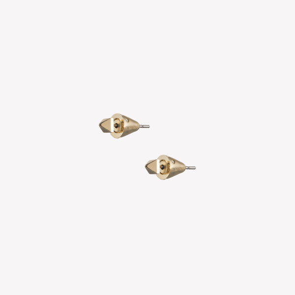 MINI PYRAMID STUD EARRINGS