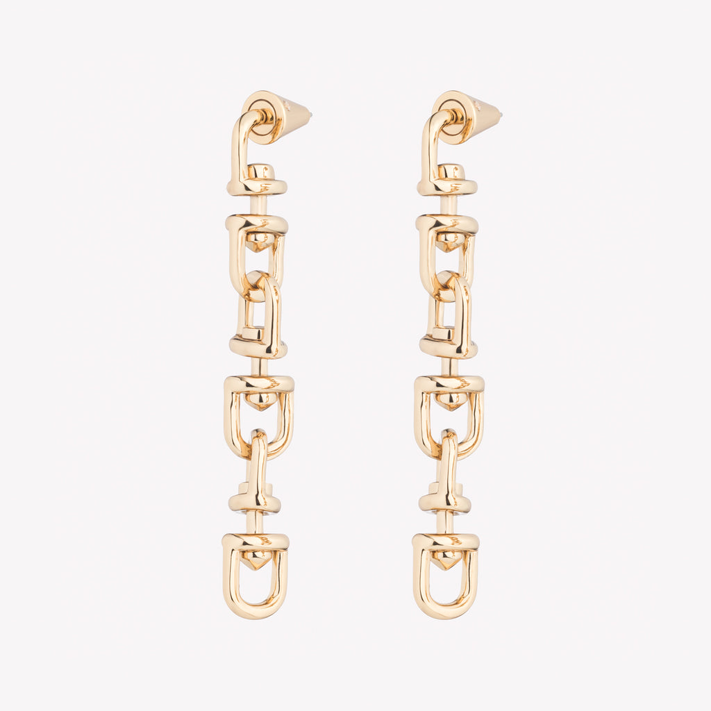 FAME LINK EARRINGS