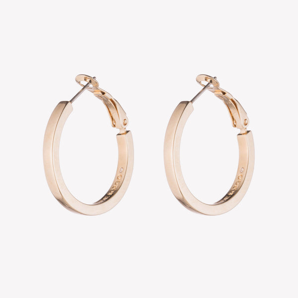 CUBE HOOP EARRINGS  |  1""