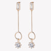BAGUETTE ESTATE LINE EARRINGS