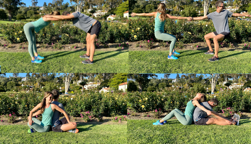 Partner Yoga for Runners