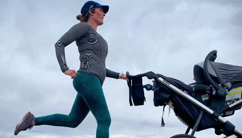 Running while Pregnant + Postpartum
