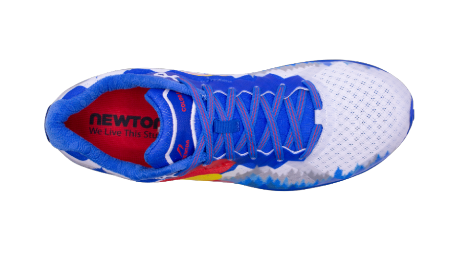 Newton's Colorado Shoe top view