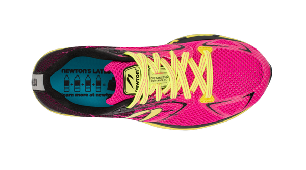 Newton Running Women's Distance S 10 top view