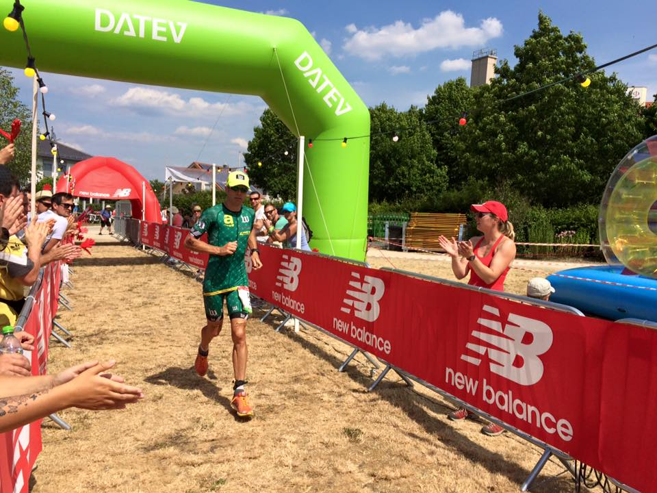 "Meanwhile, back in ""Europe"" Chris Bagg was the top American at Challenge Roth"