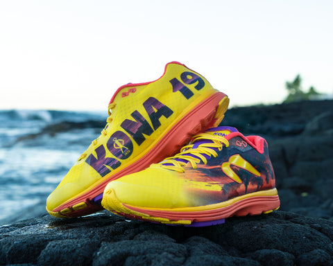 Newton Kona shoes near beach