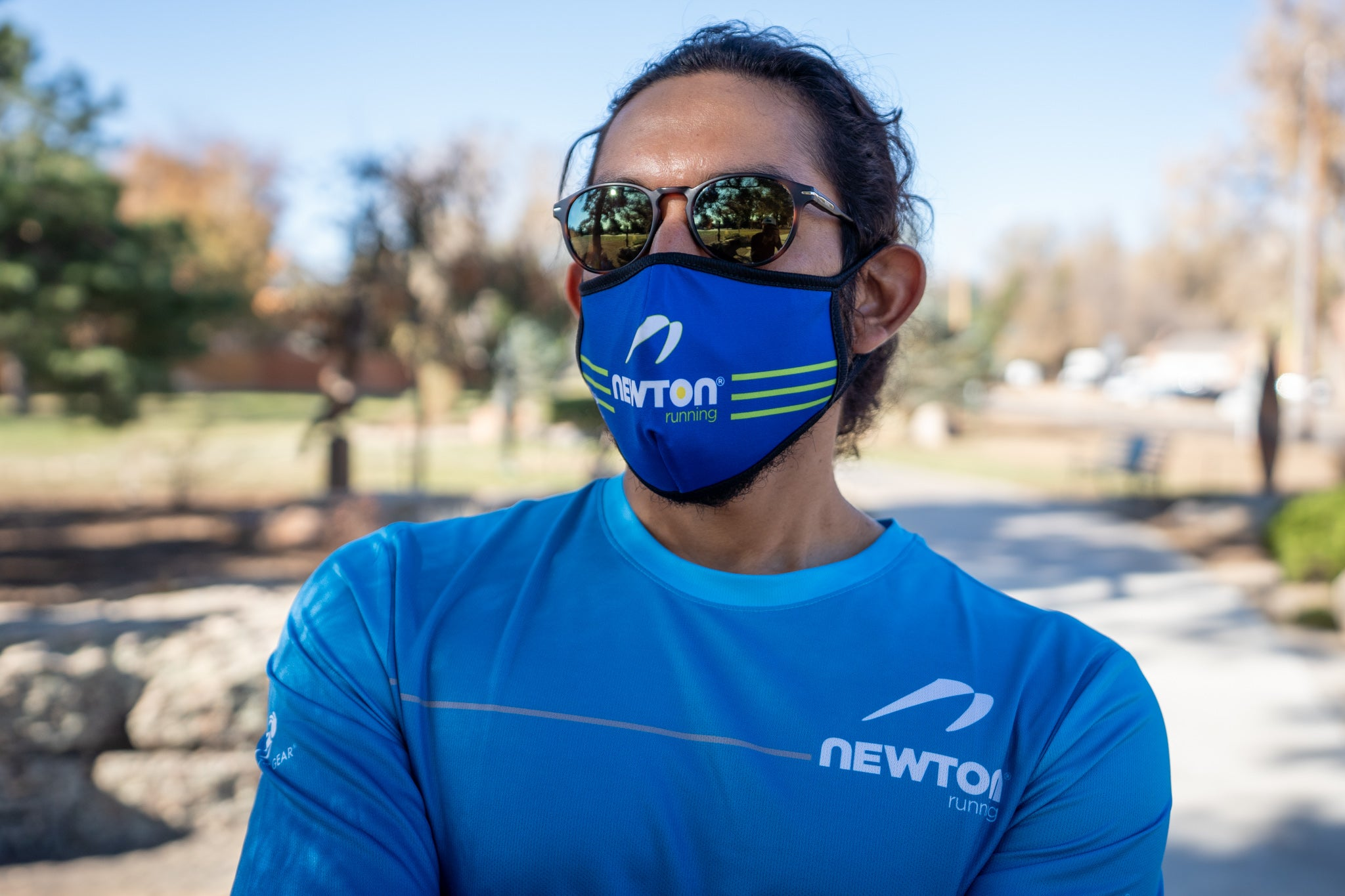 Newton Running Reversible Face Mask