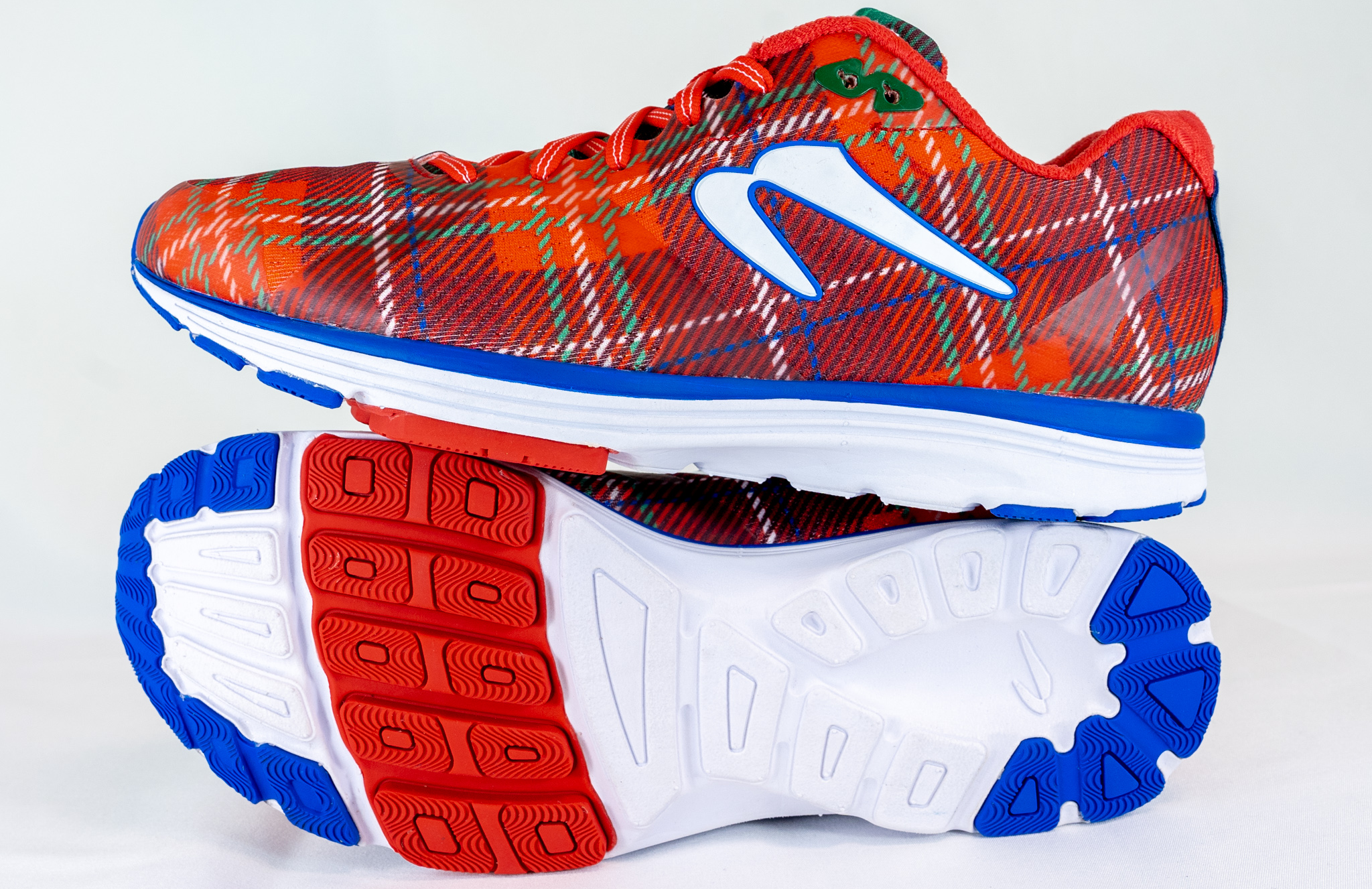 Holiday Plaid Limited Edition running shoe