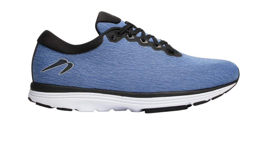 Newton Running Heather Blue Fusion side view