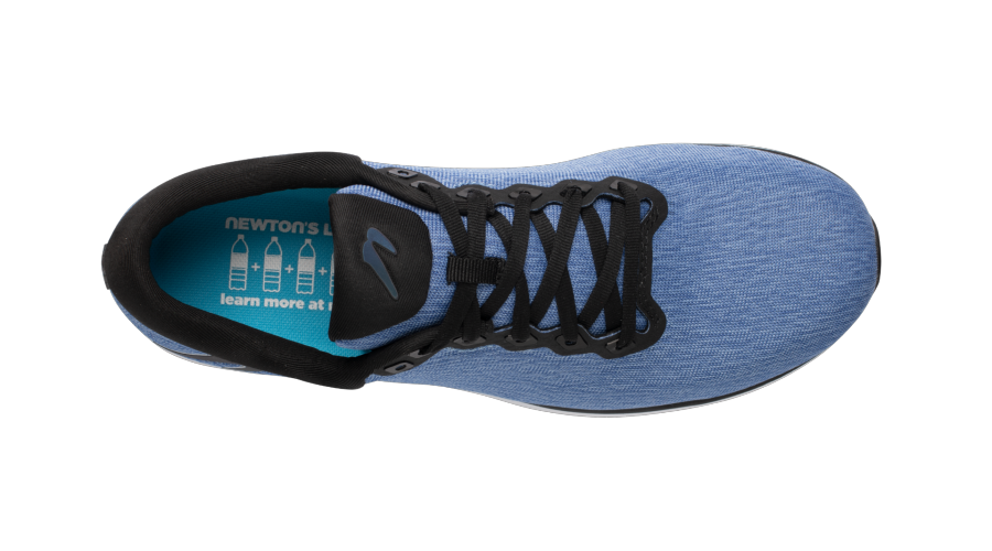 Newton Running Heather Blue Fusion top view