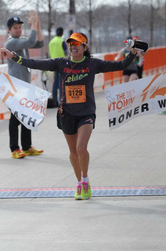 Winning Cowtown 50k 2014 NRE Debut
