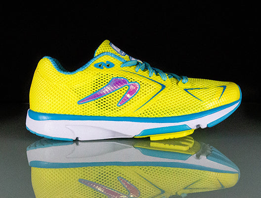 A side view of Newton Women's Distance S 8 shoes