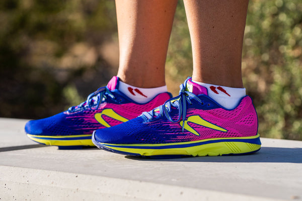 Newton Running Women's Gravity 10 on feet