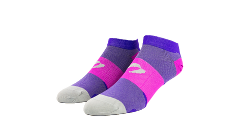 Berry/Purple Low Cut Socks