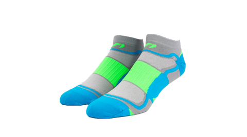 Blue Green Sock