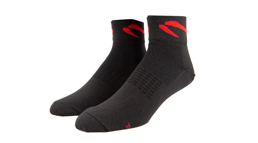 Black Quarter Socks