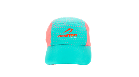 Aqua/Pink Performance Race Hat