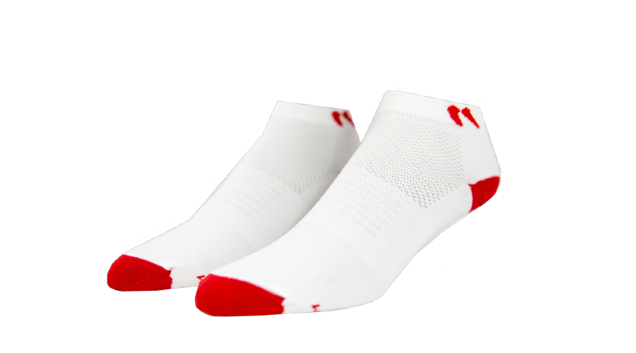 White Low Cut Socks