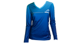 Women's Long Sleeve Tech Shirt - Blue