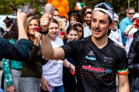 Shane Finn Irish athlete completes American Ultra supported by Satipharm CBD