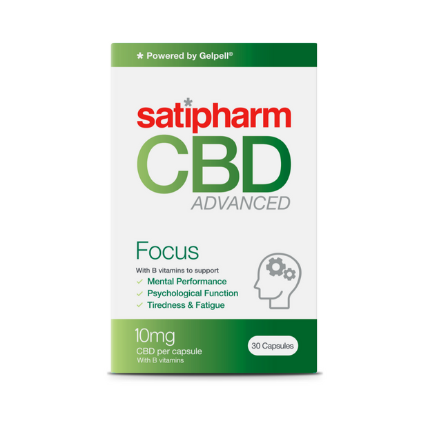 Focus | Advanced CBD Capsules