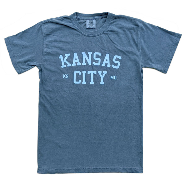 1Kansas City Tee - Blue