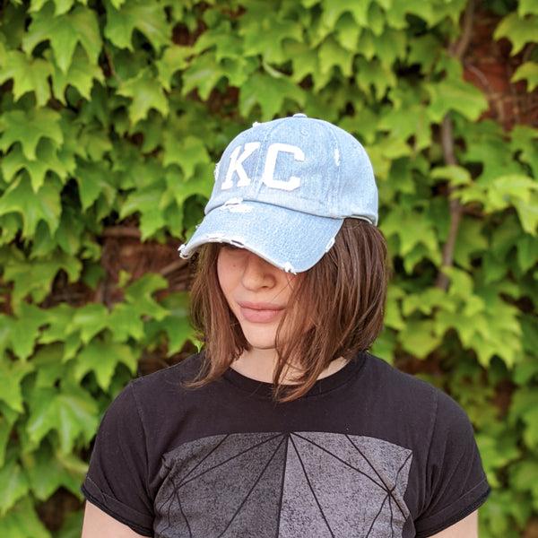 1KC Baseball Cap - Denim